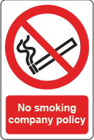 No smoking company policy