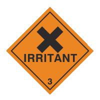 Irritant sign
