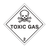 toxic gas sign