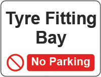 tyre fitting bay